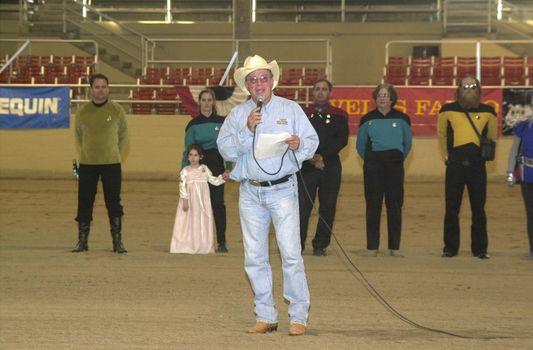 William Shatner at the Cosequin Horse Show in Burbank, 04-30-00