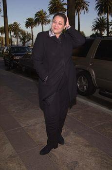 "Camryn Manheim at the ""Death Penalty Focus"" dinner in Santa Monica, 04-18-00"
