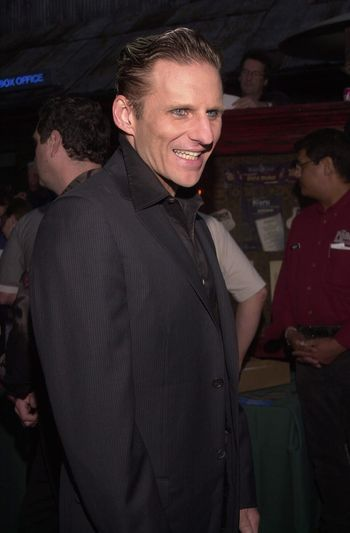 """C.C. DeVille at the """"Drive Me Crazy"""" launch party, House Of Blues, Hollywood, 04-25-00"""