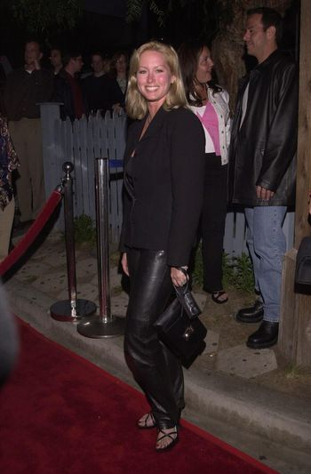 """Gillian Bonner at the """"Drive Me Crazy"""" launch party, House Of Blues, Hollywood, 04-25-00"""