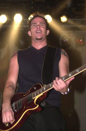 """Mark McGrath at the """"Drive Me Crazy"""" launch party, House Of Blues, Hollywood, 04-25-00"""