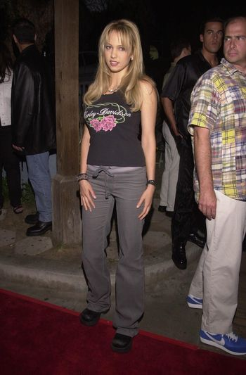 """Marnette Patterson at the """"Drive Me Crazy"""" launch party, House Of Blues, Hollywood, 04-25-00"""