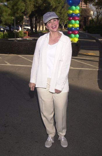 """Cindy Marshall at the MS Walk 2000, where the cast of """"Laverne and Shirley"""" reunited. Burbank, 04-09-00"""