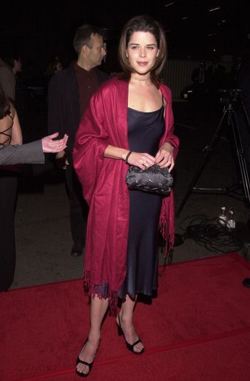 """Neve Campbell at the """"Party Of Five"""" series wrap party, Hollywood, 04-06-00"""