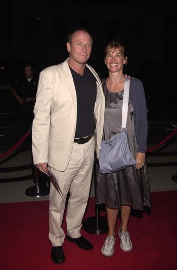 """Corbin Bernson and wife Amanda Pays at the premiere of Showtime's """"RATED X"""" in Hollywood, 04-27-00"""