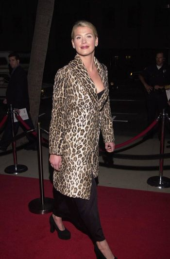 """Kristy Swanson at the premiere of Showtime's """"RATED X"""" in Hollywood, 04-27-00"""