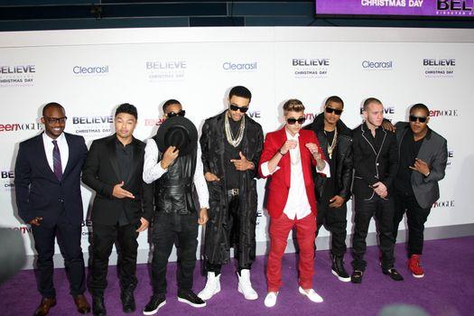 "Justin Bieber at the ""Justin Bieber's Believe"" Premiere, Regal Cinemas, Los Angeles, CA 12-18-13"