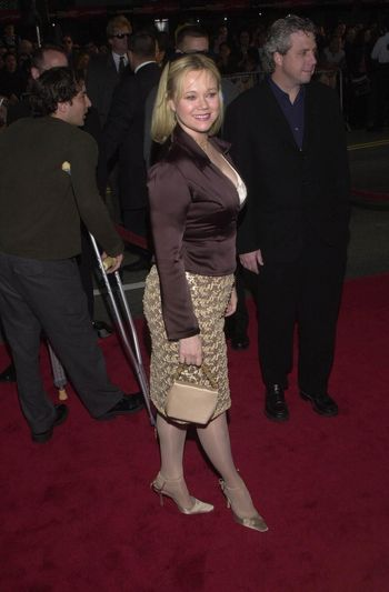 """Caroline Rhea at the premiere of Warner Brother's """"READY TO RUMBLE"""" in Hollywood, 04-05-00"""