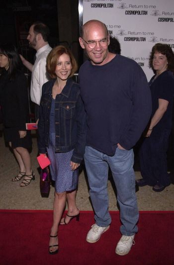 """Mitch Pileggi and Arlene Warren at the premiere of MGM's """"RETURN TO ME"""" in Century City, 04-03-00"""