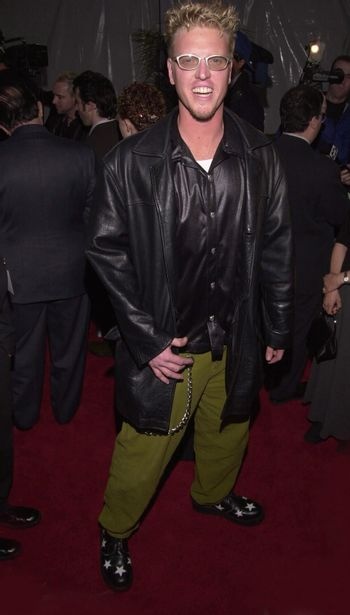 """Jake Busey at the premiere of Universal's """"U-571"""" in Westwood, 04-17-00"""
