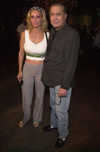 James Farentino and Wife Stella at the premiere of Very mean Men in Beverly Hills. 08-15-00