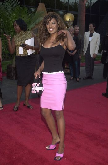 Traci Bingham at the Planet Hope Gala hosted by Sharon and Kelly Stone in Woodland Hills. 08-07-00