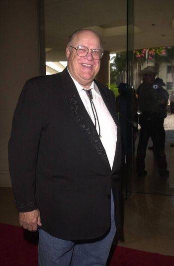 David Huddleston at the Golden Boot Awards for Westerns on Film & Television in Beverly Hills. 08-05-00