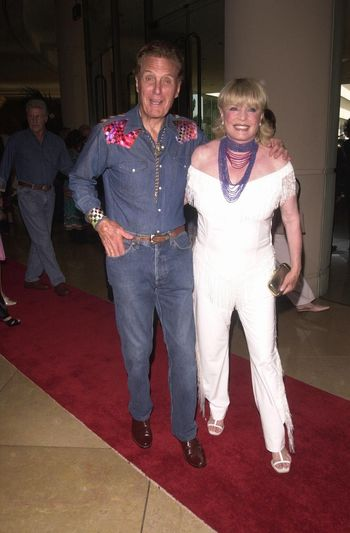 Robert Stack and wife Rosemary at the Golden Boot Awards for Westerns on Film & Television in Beverly Hills. 08-05-00