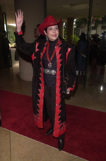 Ann Miller at the Golden Boot Awards for Westerns on Film & Television in Beverly Hills. 08-05-00