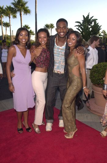"""Bill Bellamy and Friends at the premiere of """"Original Kings of Comedy"""" in Hollywood. 08-10-00"""