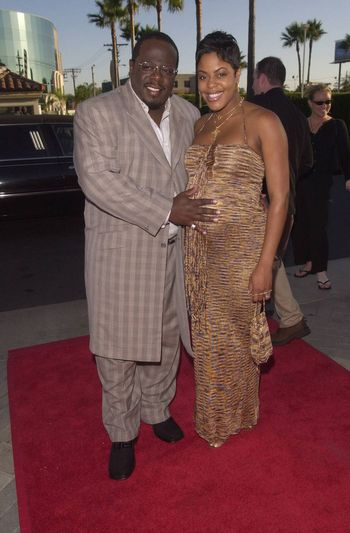 """Cedrick and Lorna Kyles at the premiere of """"Original Kings of Comedy"""" in Hollywood. 08-10-00"""