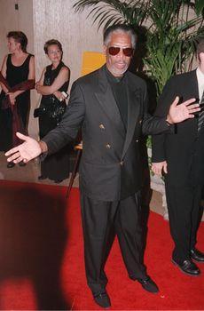 Morgan Freeman at the Hollywood Film Awards in Beverly Hills. 08-08-00