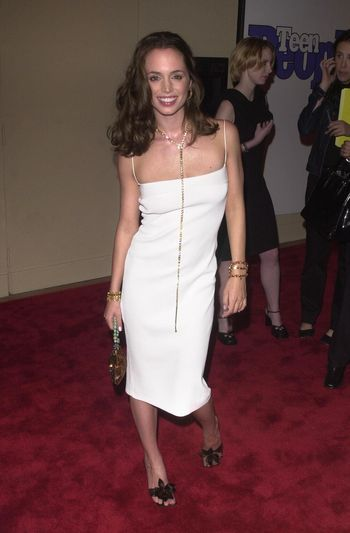 """Eliza Dushku at the premiere of """"Bring It On"""" in Westwood. 08-22-00"""