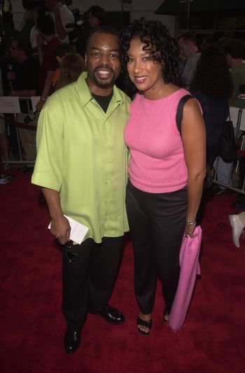 Levar Burton at the premiere of Hollow Man in Westwood. 08-02-00