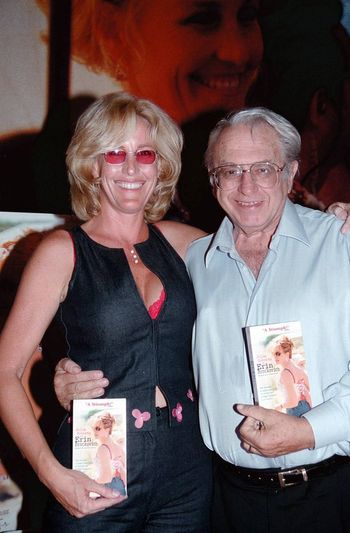 Erin Brockovich and  Ed Masry at the video release party for the film in Barstow. 08-15-00