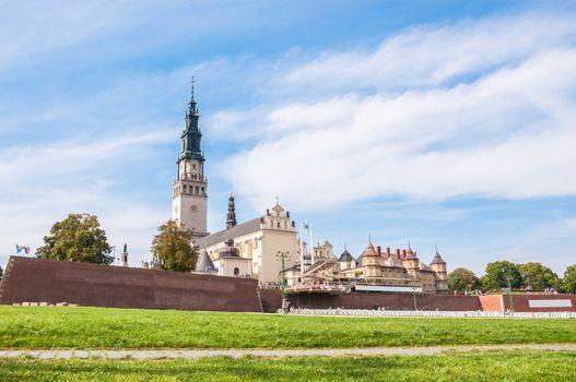 The Jasna Gora sanctuary in Czestochowa