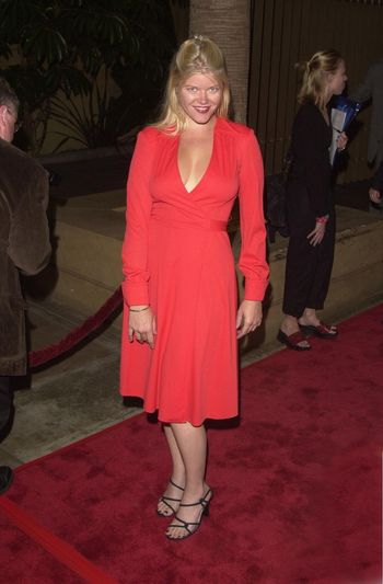 Sarah Ann Morris at the premiere of The Way Of The Gun in Hollywood. 08-29-00