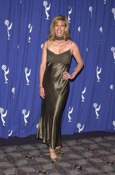 Leeza Gibbons at the Creative Arts Emmy Awards in Pasadena. 08-26-00