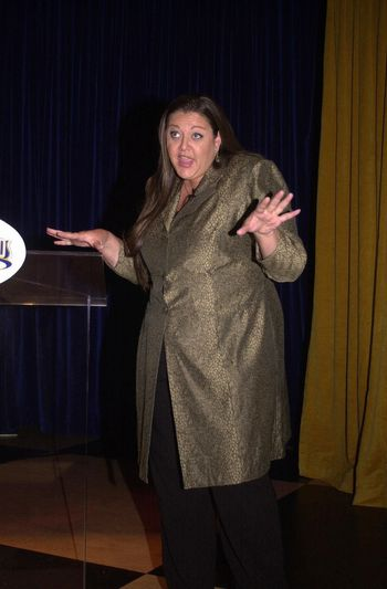 Camryn Manheim at the arrival of the Emmy Statues at Universal Studios. 08-22-00
