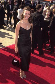 Kristen Davis at the Creative Arts Emmy Awards in Pasadena. 08-26-00