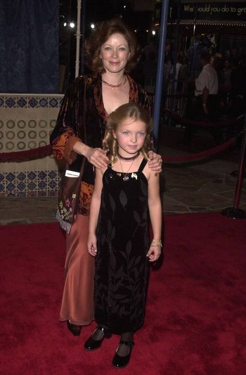 """Frances Fisher and Francesca at the premiere of """"Space Cowboys"""" in Westwood. 08-01-00"""
