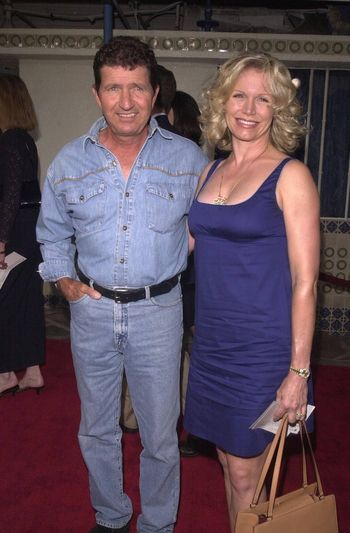 """Mac Davis and Wife at the premiere of """"Space Cowboys"""" in Westwood. 08-01-00"""
