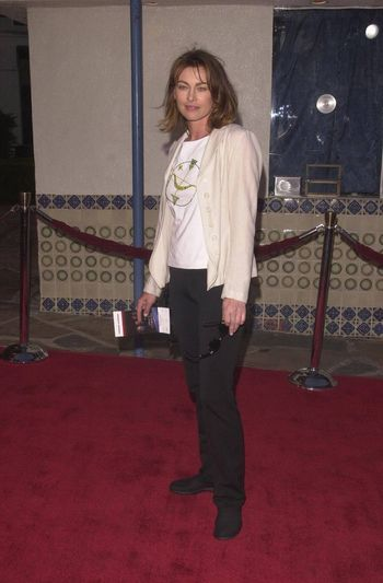 """Joanna Pacula at the premiere of """"Space Cowboys"""" in Westwood. 08-01-00"""