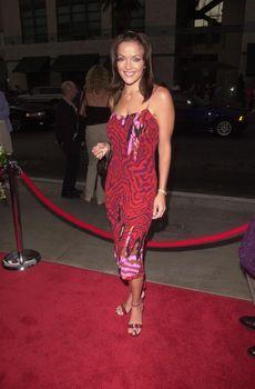 Brandi Lanford at the premiere of My 5 Wives in Santa Monica. 08-28-00