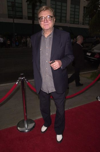 Steve Allen at the premiere of My 5 Wives in Santa Monica. 08-28-00