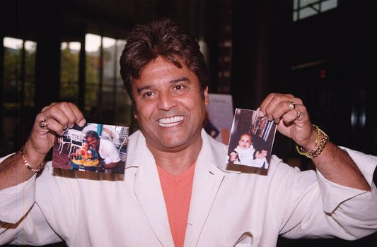 Eric Estrada at the premiere of the TNT movie Running Mates. 08-01-00