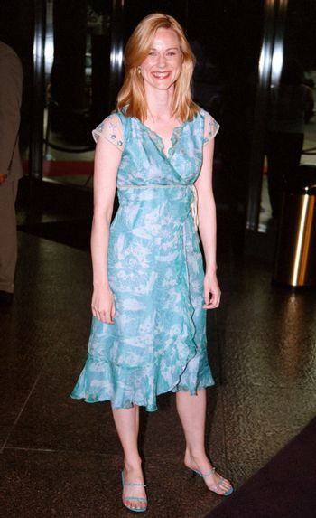 Laura Linney at the premiere of the TNT movie Running Mates. 08-01-00