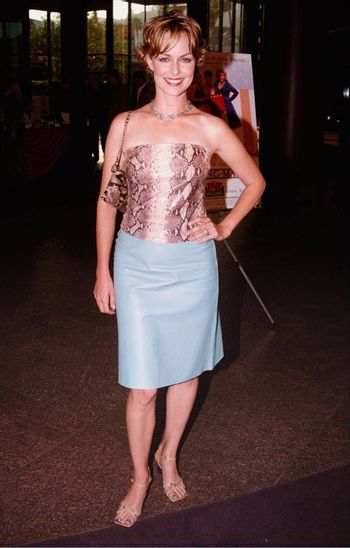 Melora Hardin at the premiere of the TNT movie Running Mates. 08-01-00