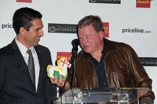 William Shatner at the Priceline.com Hollywood Charity Horse Show Event, Firenze Osteria, Toluca Lake, CA 01-29-14/ImageCollect
