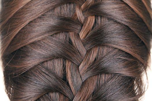 Braid hair.