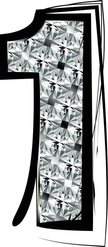 Diamond Font Number 1