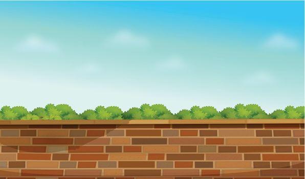 A high stonewall