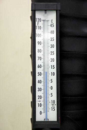 Thermometer in the control room,Control Cooling of Air conditioner.