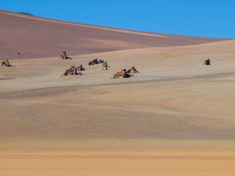 Salvator Dali's desert