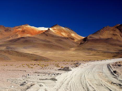 Borax mountain