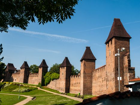 Town fortification in Nymburk