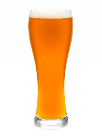 Glass of IPA ale