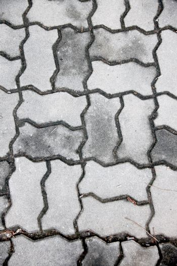 Brick is a walkways And it can be made into wallpaper.