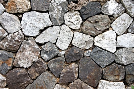 The Stone walls as defense of home.