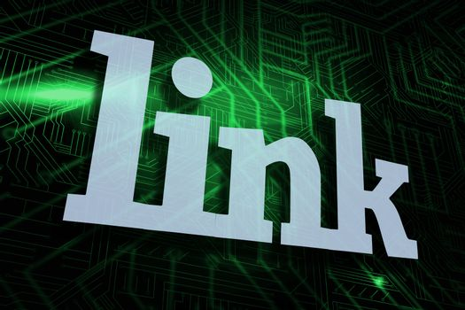 Link against green and black circuit board